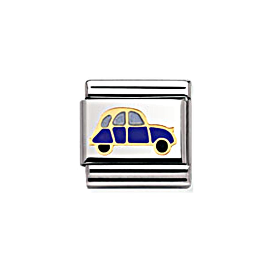 Nomination Classic Gold and Enamel Peace and Love Car Charm Andrew Berry 71280357d793